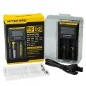 Chargeur Nitecore D2 LCD