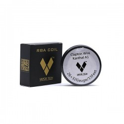 Clapton Wire VaporTech (26+32 Gauge) vaportech Coin des experts