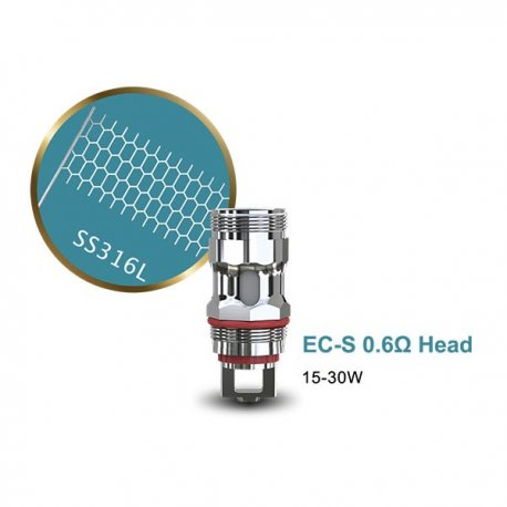 Résistances EC-S 0.6 ohm - Eleaf